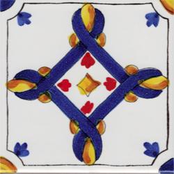 LR Corfu' blu rosso | Piastrelle ceramica | La Riggiola