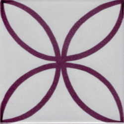 LR Fiore vinaccia | Ceramic tiles | La Riggiola