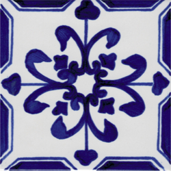 LR Giglio blu | Bodenfliesen | La Riggiola
