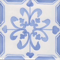 LR Giglio blu chiaro | Floor tiles | La Riggiola