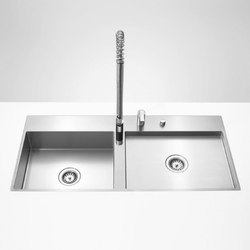Water Units - Lavello due vasche | Lavelli | Dornbracht