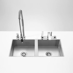 Water Units - Double sink | Kitchen sinks | Dornbracht