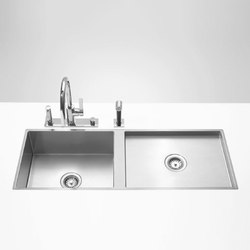 Water Units - Cuve double | Kitchen sinks | Dornbracht