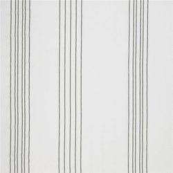 Santiago Fabrics | Saramacca - Noir | Vorhangstoffe | Designers Guild