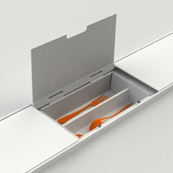 EasyRack Kitchen Step | Cutlery tray | Kitchen organization | Domusomnia