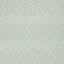 Seraphina Fabrics | Melusine - Celadon | Tejidos para cortinas | Designers Guild
