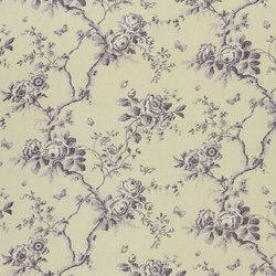 Signature Ashdown Manor Fabrics | Ashfield Floral Voile - Vintage Purple | Tejidos para cortinas | Designers Guild