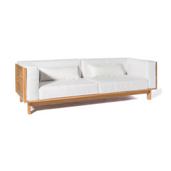 Skanör 3-seater sofa | Sofás de jardín | Skargaarden