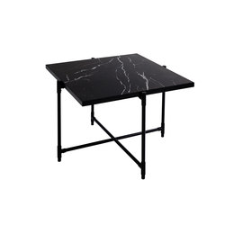 Coffee Table 60 BLACK on BLACK - Black Marble | Lounge tables | HANDVÄRK
