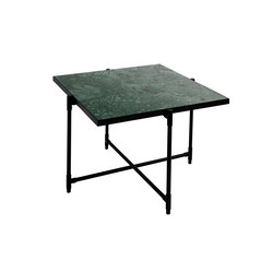 Coffee Table 60 BLACK on BLACK - Green Marble | Couchtische | HANDVÄRK