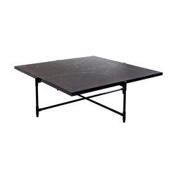Coffee Table 90 BLACK on BLACK - Black Marble | Lounge tables | HANDVÄRK