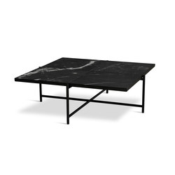 Coffee Table 90 Black - Black Marble | Tavolini da salotto | HANDVÄRK