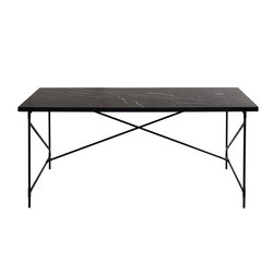 Desk BLACK on BLACK - Black Marble | Tables de repas | HANDVÄRK