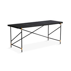 Desk Brass - Black Marble | Dining tables | HANDVÄRK