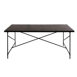Dining Table 185 BLACK on BLACK - Black Marble   Dining tables   HANDVÄRK