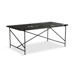 Dining Table 185 Black - Black Marble | Tables de repas | HANDVÄRK