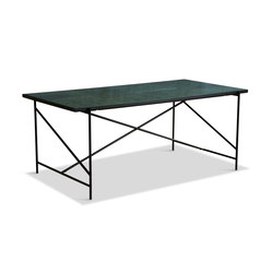 Dining Table 185 Black - Green Marble   Dining tables   HANDVÄRK