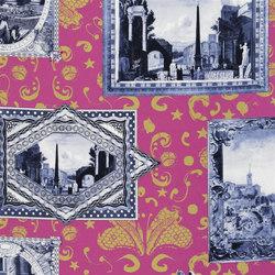 Arles Fabrics | Arles - Fuchsia | Tissus pour rideaux | Designers Guild