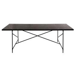 Dining Table 230 BLACK on BLACK - Black Marble | Tavoli da pranzo | HANDVÄRK
