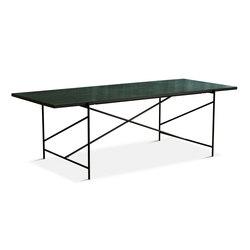 Dining Table 230 Black - Green Marble | Mesas comedor | HANDVÄRK