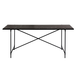 High Table BLACK on BLACK - Black Marble | Console tables | HANDVÄRK