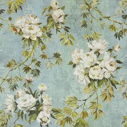 Caprifoglio Fabrics   Floreale Grande - Celadon   Curtain fabrics   Designers Guild
