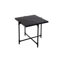 Side Table BLACK on BLACK - Black Marble | Tables de chevet | HANDVÄRK