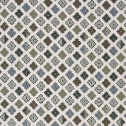 Carnets Andalous Fabrics | Alcazar - Oeillet | Tissus pour rideaux | Designers Guild