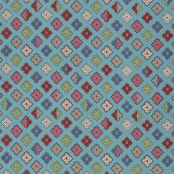 Carnets Andalous Fabrics | Alcazar - Lagon | Curtain fabrics | Designers Guild