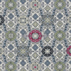 Carnets Andalous Fabrics | Wild Palms - Opalin | Curtain fabrics | Designers Guild