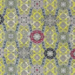 Carnets Andalous Fabrics | Wild Palms - Safran | Curtain fabrics | Designers Guild
