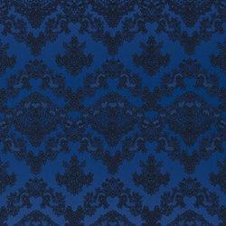 Carnets Andalous Fabrics | Macarena - Cobalt | Tissus pour rideaux | Designers Guild