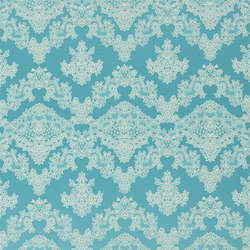 Carnets Andalous Fabrics | Macarena - Lagon | Vorhangstoffe | Designers Guild