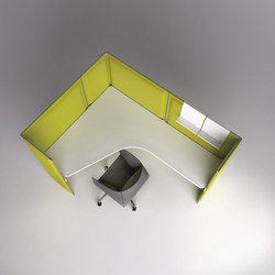 Multy acoustic panel H140 | Office Pods | Tecno