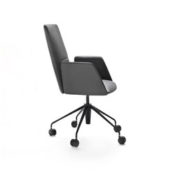Vela Executive medium-backrest chair | Chaises de travail | Tecno