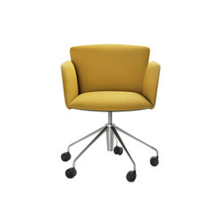 Vela Executive low-backrest chair | Sillas de conferencia | Tecno