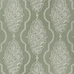 Elizabeth Fabrics | Regent - Teal | Curtain fabrics | Designers Guild