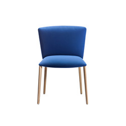 Vela Visitors low-backrest chair | Stühle | Tecno