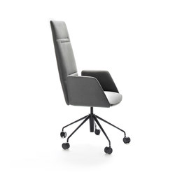 Vela Executive high-backrest chair | Sillas ejecutivas | Tecno