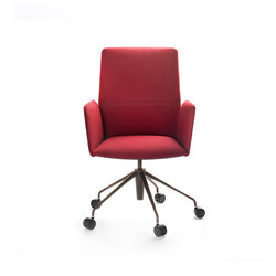 Vela Executive high-backrest chair | Chaises de travail | Tecno