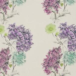 Kaori Fabrics | Sashiko - Heather | Tissus pour rideaux | Designers Guild