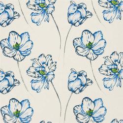 Kaori Fabrics | Montsuki - Cobalt | Curtain fabrics | Designers Guild