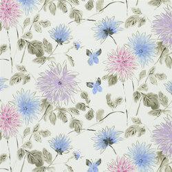 Kimono Blossom Fabrics | Amala - Heather | Tejidos para cortinas | Designers Guild