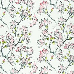 Kimono Blossom Fabrics | Magnolia Tree - Blossom | Tissus pour rideaux | Designers Guild