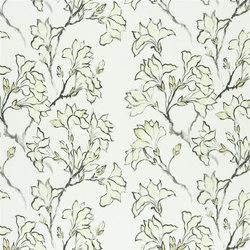 Kimono Blossom Fabrics | Magnolia Tree - Ecru | Tejidos para cortinas | Designers Guild