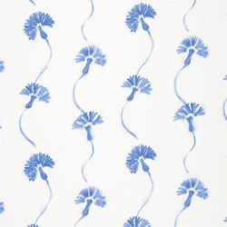 Kimono Blossom Fabrics | Shirotae - Cobalt | Curtain fabrics | Designers Guild