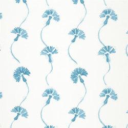 Kimono Blossom Fabrics | Shirotae - Azure | Tissus pour rideaux | Designers Guild