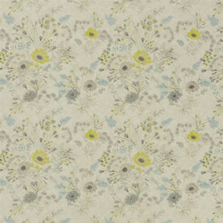 Lavandou Fabrics | Wild Flower - Birch | Curtain fabrics | Designers Guild