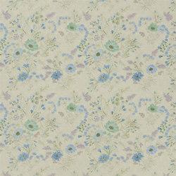 Lavandou Fabrics | Wild Flower - Delft | Curtain fabrics | Designers Guild