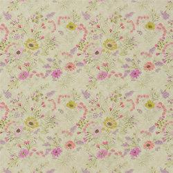 Lavandou Fabrics | Wild Flower - Peony | Curtain fabrics | Designers Guild